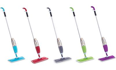 best spray mop with microfibre pads for hardwood flooring